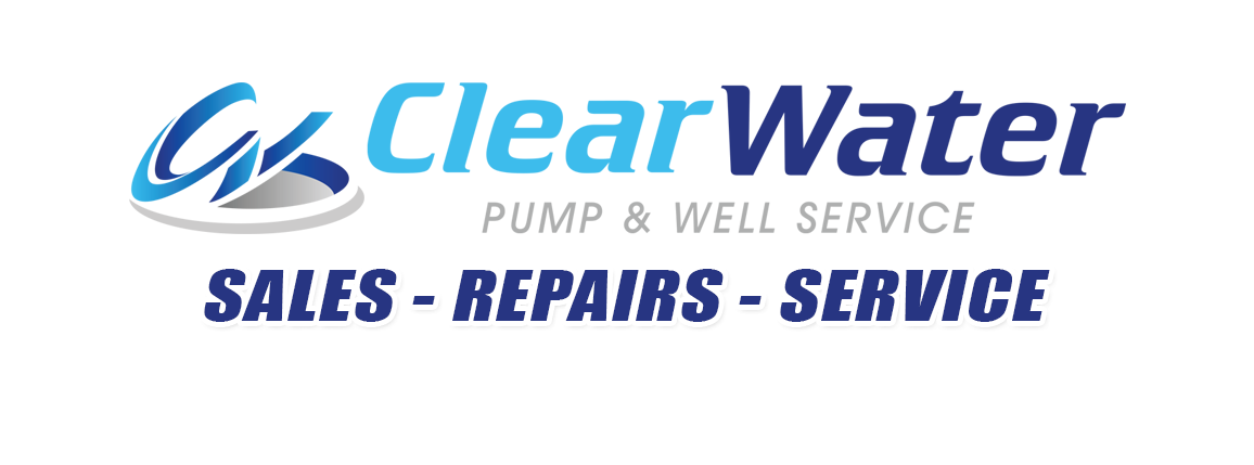 clear water well sales service logo